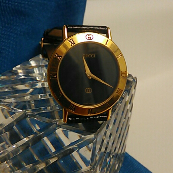 37c48ba969d Gucci Other - Vintage Gucci mens watch model 3000 M gold electro